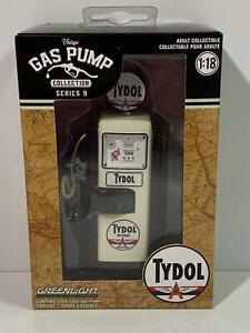 1948 Wayne 100 Gas Pump Tydol Flying Gasoline 1:18 Scale Greenlight 14090A