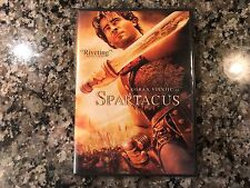 Spartacus DVD! 2004 Biography! 12 Years A Slave Gladiator King Arther Centurion