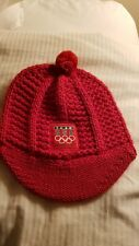 Vancouver 2010 Red Team Usa knit Hat cap Nike