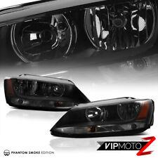 2011-2018 Volkswagen Jetta MK6 A6/Typ 1B L+R Smoke Headlight Amber Signal Lamp
