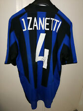 maglia shirt INTER nike autografata ZANETTI