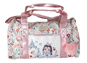 Disney Animators Beauty & Beast Belle Princess Handbag Purse Duffle Bag Ballet