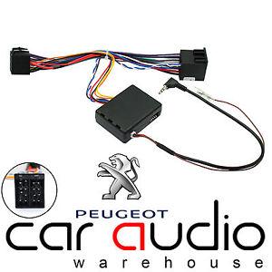Peugeot Partner 2002 On Car Radio Steering Wheel Interface & FREE PATCH LEAD
