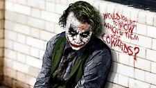 WALL STIKERS Joker BATMAN Italia ADESIVO PER MURO PRODOTTO ITALIANO