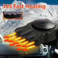 Electric Car Heater 12V Dc Heating Fan Defogger Defroster Demister Portable Us