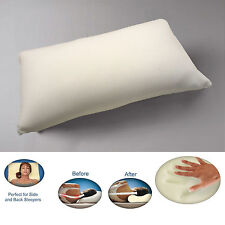 New Luxury 100% Orthopaedic MEMORY FOAM PILLOW Anti-Bacterial Neck Pain Support