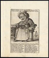Antique Print-STOCK MARKET-SATIRE-DIRECTOR-MIDGET-John Law-1720
