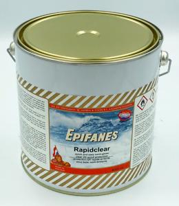 Epifanes Rapidclear Marine Boat Varnish semi gloss wood protection  4000ML Rapid