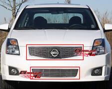 Fits 07-10 Nissan Sentra SE-R Billet Grille Combo