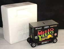 "Rare ~ Racing Collectables Mello Yello Pit Wagon ""Kyle Petty"" Die-Cast Coin Bank"