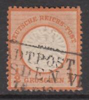 GERMANY - 1872 REICH Mi 18  cv 190$  very fine centered