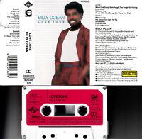 BILLY OCEAN - Love Zone 📼 MC Musikkassette, jive 1986