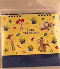 NEW Toy Story 2018 Desk Calendar - Disney Pixar Japan / Japanese Anime Lazy Egg