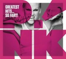 Pink Greatest Hits so Far CD Album 19 Tracks P.a. Trouble Get Party Started