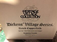 Department 56: David Copperfield - Betsy Trotwood's Cottage - Dickens Village