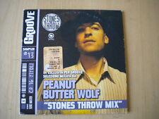 Peanut Butter Wolf Stones throw mixCDhip hop R&B Koushik Jaylib Madvillain YNQ