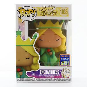 Funko POP! Disney: Beauty and the Beast - Enchantress 2021 WonderCon Exclusive