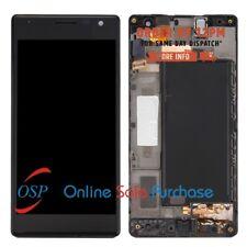 Per Nokia Lumia 730 735 Digitizer vetro LCD Display Schermo Touch Assemblea Nero