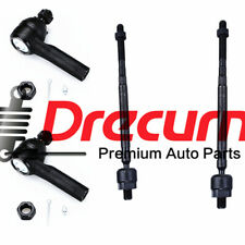 4PC Inner Outer Tie Rods Set For Nissan Maxima Infiniti i30 i35