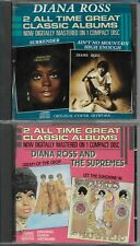 DIANA ROSS - The Supremes, 2 ALL TIME GREAT CLASSIC ALBUMS (2 CD´s)