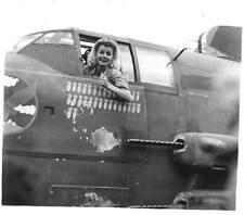 WWII B&W Photo Ann Sheridan  Visits China 14th Air Force USAAC WW2  / 1249