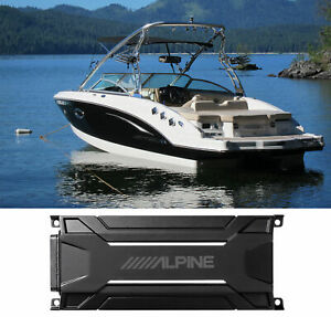 ALPINE KTA-30MW 600 Watt Marine Waterproof Mono Amplifier For Boat IP66
