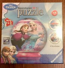 Ravensburger 12173 Disney Frozen 3D Jigsaw Puzzle - 72 Pieces - New & Sealed