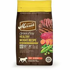 Merrick Grain Free Healthy Weight Recipe Dry Dog Food, 25-Pound