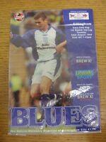 26/08/1997 Birmingham City v Gillingham [Football League Cup] (creased). Trusted
