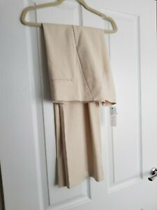 UNITED COLORS OF BENETTON IVORY TROUSERS SIZE 12 BNWT