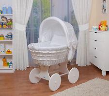 WALDIN bébé Chariot enfants,couchette bébé XXL nouveau blanc