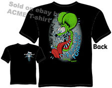 Fearless Forever Rat Fink T Shirt Big Daddy Clothing Tee Ed Roth T Shirts