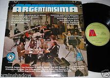 ARGENTINISIMA same various compilation LP microfon Rec. ARGENTINA 1971