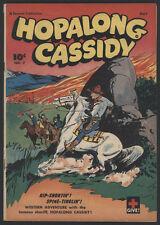 HOPALONG CASSIDY#7, 1947, Fawcett - Double Cover