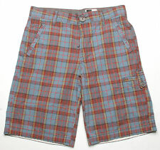 Hause of Howe Dean Cargo Plaid Short (32) Mid Day Grey N8R13AN