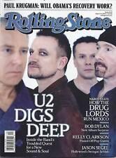 Rolling Stone magazine U2 Bob Dylan Kelly Clarkson Jason Segel Barack Obama