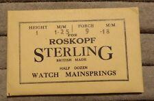 ROSKOPF OROLOGIO fondanti x 6, NN., Sterling, specifica mostrato in pacchetto.