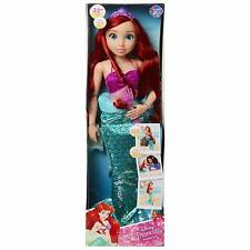 "Disney Princess Ariel Playdate Doll 32""  - The Little Mermaid - NEW"