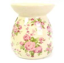 Ceramica Luce Tè VINTAGE PORTACANDELE Romance Bruciatore Olio Essenziale