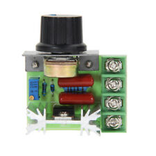AC 110~220V 2000W SCR Voltage Regulator Dimmers Speed Temperature Controller 2kw