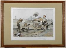 Francisque POULBOT - 1879 - 1946 - '' Enfants de Montmartre ''