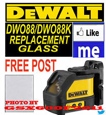 DEWALT DW088/DW088K REPLACEMENT GLASS/SCREEN/LASER LEVEL GET TOMORROW SEE CUTOFF