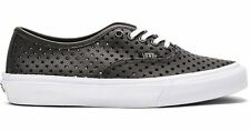 Vans AUTHENTIC SLIM PERF STARS BLACK Skate Shoes MENS 7 WOMENS 8.5 CLASSICS NIB