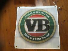 Victoria bitter. VB Man cave flag beer mancave ideas sign bar flag banner poster