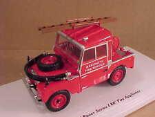 "TrueScale 1/43 '57 Land Rover Series I 88"" Fire Truck, Merioneth UK  #TSM144324"