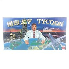 VINTAGE TYCOON BOARD GAME 1996 CHINESE COMPLETE NEW SEALED.