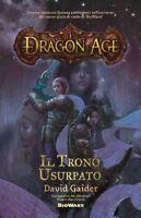Dragon Age Il trono usurpato David Gaider BioWare 1 multiplayer usato ottimo