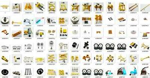 Metal Radio Tray Refit Up Parts for 1/18 WLtoys A969 A979 A959 K929 Car Yellow