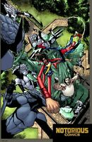 War of the Realms #1 International Connecting Variant Marvel 1st Print 04/03