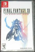 Final Fantasy XII: The Zodiac Age - Nintendo Switch - Brand New Sealed